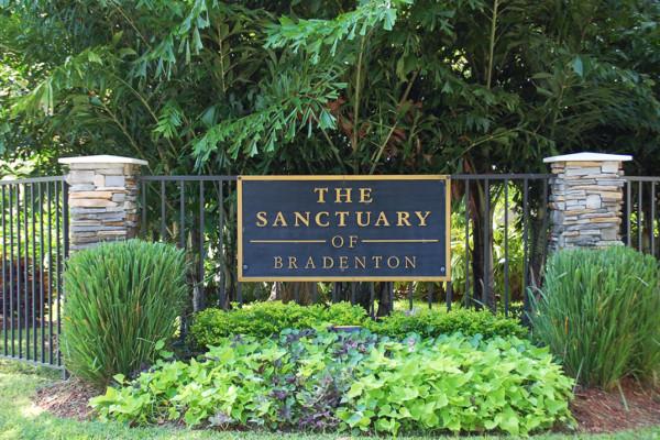 Sanctuary Entrance Sign
