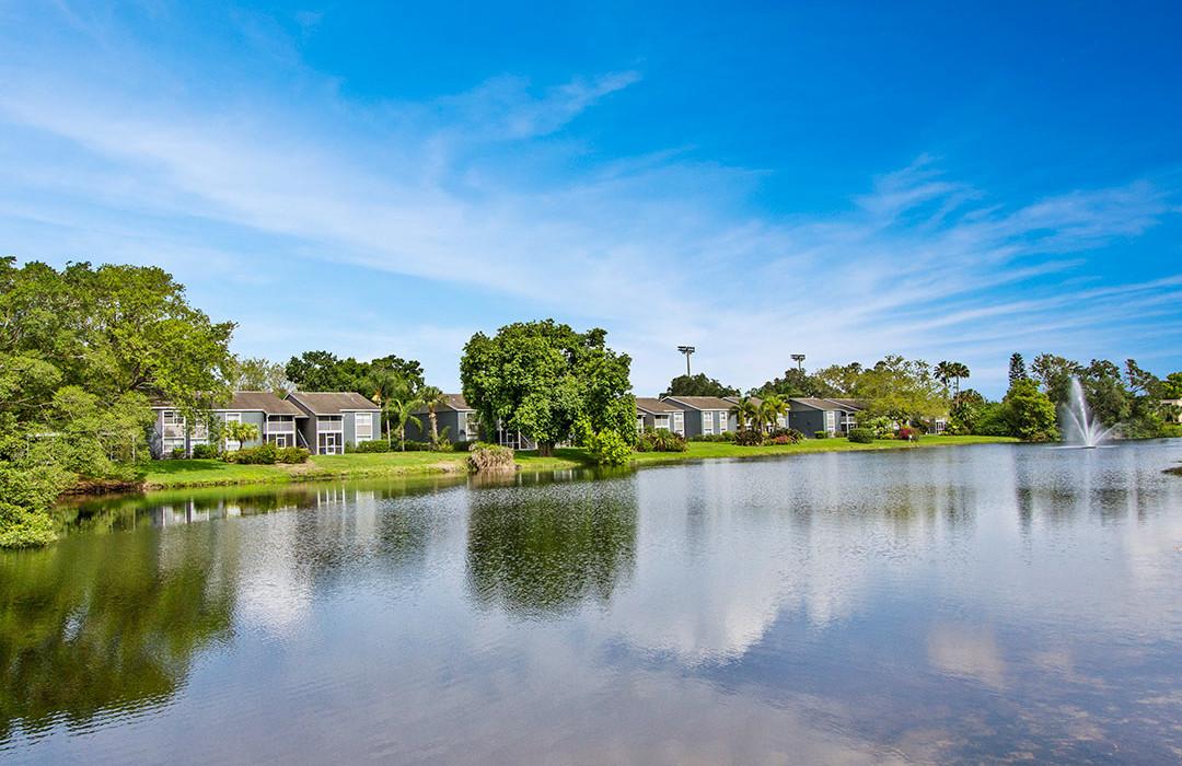 Sanctuary Condominiums Pond