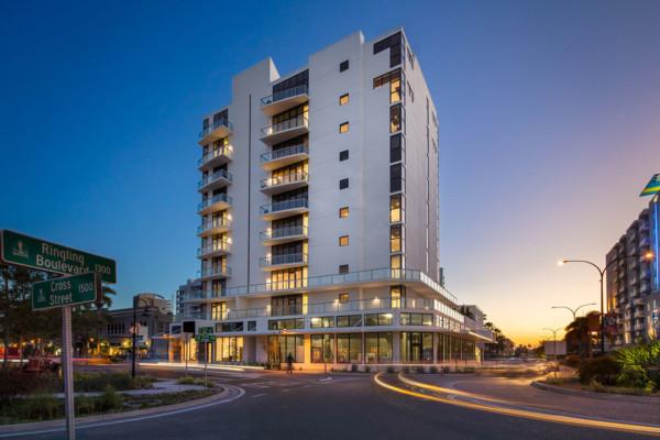 Sansara Condominiums Building Exterior
