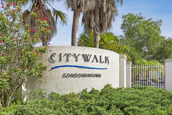 Citywalk Sign